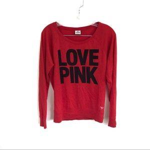 LOVE PINK Victoria's Secret Long Sleeve Tee